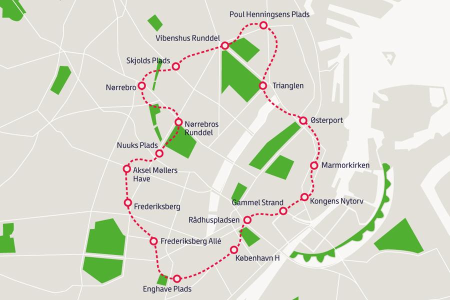Line 3,4 Cityringen